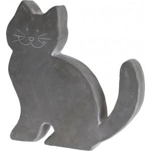 Mačka antracit plochá 24310