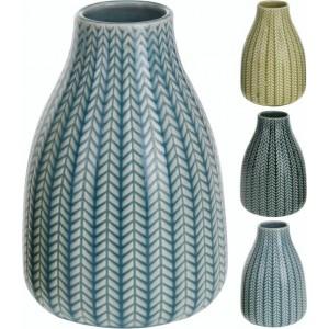 Váza porcelán zelená 24313