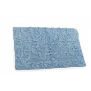 Koberec kúpeľňový modrý 24637