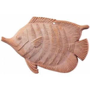 Terakotová ryba 22 cm 30768