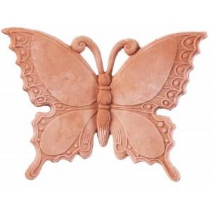 Terakotový motýľ 21 cm 30771