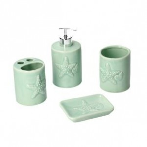 Kúpeľňový set zelený 27612