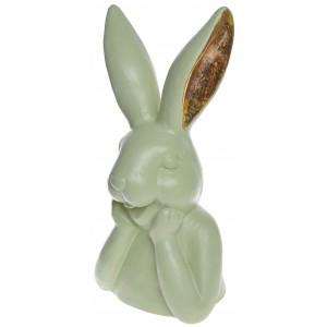 Zajac hlava - zelený, stredný 29865