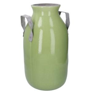 Váza keramická zelená 31623