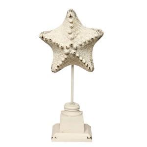 Hviezdica na stojane 15x9x32cm Clayre-Eef 31414