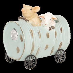 Prasa s ovcou v sude 29245