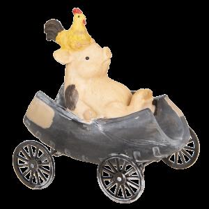 Prasa a kura na vozíku 23237