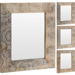 Zrkadlo drevo 23349