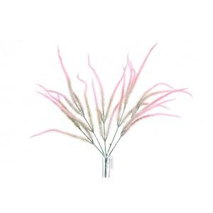Tráva - kytica ružová 30014