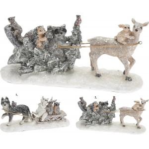 Vianočná dekorácia - zvieratá 31716