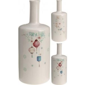 Váza biela 22689