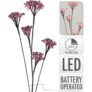 Konáre zasnežené LED 90cm 32004