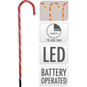 Dekorácia vianočná LED 5ks 32006