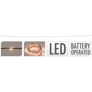 Osvetlenie 10 LED, špagát - dĺžka 1m 32047