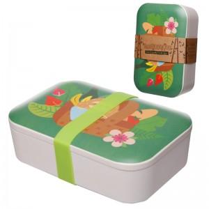 Box desiatový z bambusu - vzor Lenivec 28380