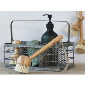 Bambusová kefa na umývanie riadu tampico štetinami Chic Antique 35211