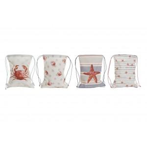 Bavlnený ruksak s morským motívom 28x36 cm 32724