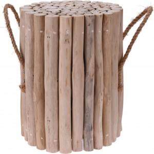 Drevená stolička z teaku 34230