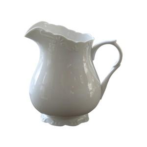 Džbán biely porcelánový v rustikálnom štýle Chic Antique 34216