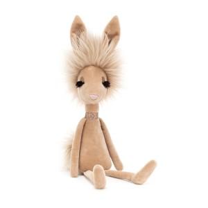 Elegantný béžový plyšový zajačik Vivien Jellycat Swellegant Vivien Hare 35 cm 33506