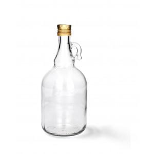 Fľaša s vrchnákom 0,5L 31242