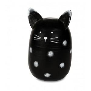 čierna mačička y