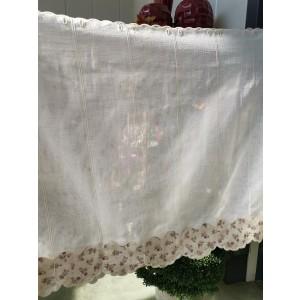 Záclona 90cm nizza lila 23089