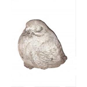 Terakotová dekorácia vták bucľatý vrabec 18 cm 34991