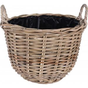 Košík ratanový s dvoma rúčkami 29001