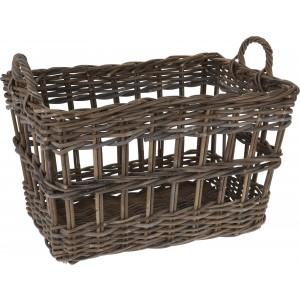 Košík ratanový s rúčkami 29002