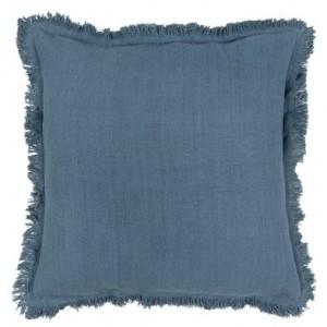 Vankúš tmavomodrý bavlna 45x45cm 32267