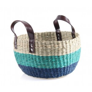 Košík z morskej trávy 27x23x16 cm 33453