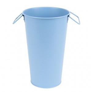Kovové vedro vysoké modré 25,9 cm Esschert design