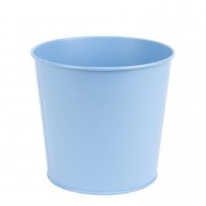 Kovový kvetináč modrý 15,4 cm Esschert design