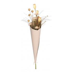 Kytica žltých kvetov v kornútku 34136