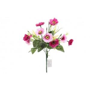 Kytica umelých ružovo cyklámenových sirôtok 30 cm 33805