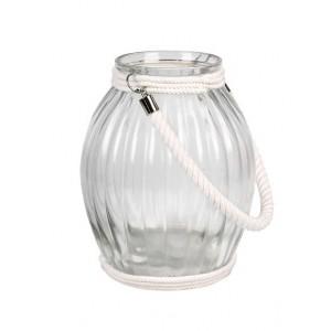 Lampáš sklenený so šnúrkou 31139