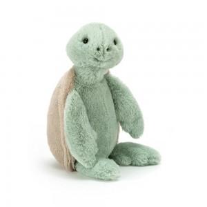 Mätová plyšová korytnačka s hnedým pancierom Jellycat Bashful Turtle 31 cm 33499