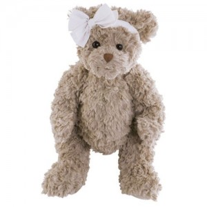 Medvedík Douce Romy s mašľou na hlave 40 cm Bukowski design 32941