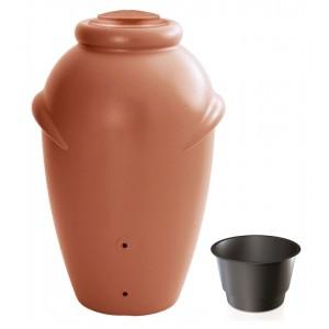 Nádrž plastová na dažďovú vodu vo farbe terakoty 360 l 27731