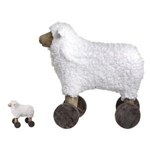 Ovca na kolieskach v rustikálnom štýle Chic Antique 34208