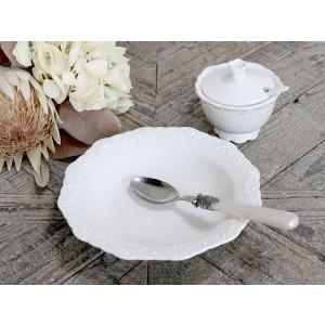 Porcelánový hlboký tanier s dekorom Provence Chic Antique 35216