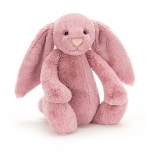 Ružový plyšový zajačik Jellycat Bashful Tulip Bunny 36 cm 33491