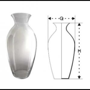 Váza sklenená 29853