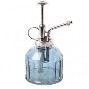 Sklenený rozprašovač - postrekovač modrý 200 ml Esschert design