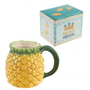 Pohár keramický, vzor ananás PUCKATOR 28567
