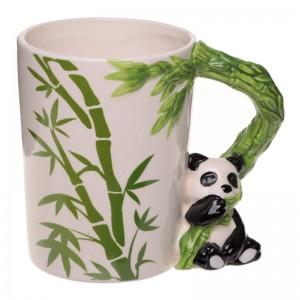 Pohár panda 10,5x12,5x8cm 27553