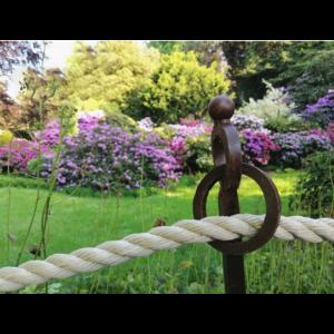 Kovový rustikálny stĺpik ručne robený 33989