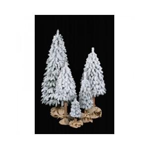 Vianočný stromček na kmeni zasnežený smrek HORSKÝ 2,10 m 32471