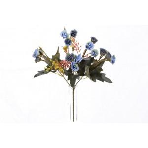 Kytička ruže - modrá 29815